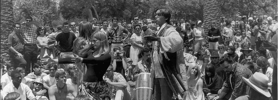 Summer of love in Golden Gate Park
